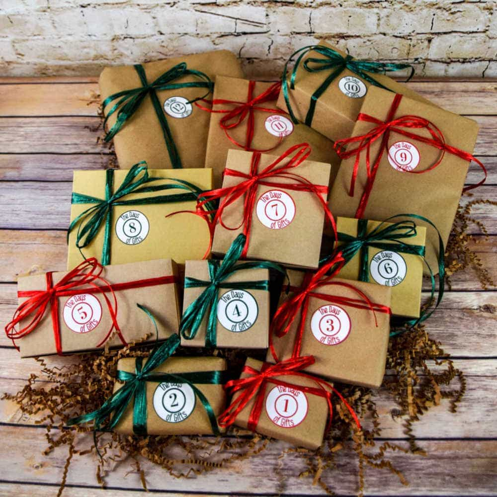 the 12 days of christmas gifts for her from the days of gifts