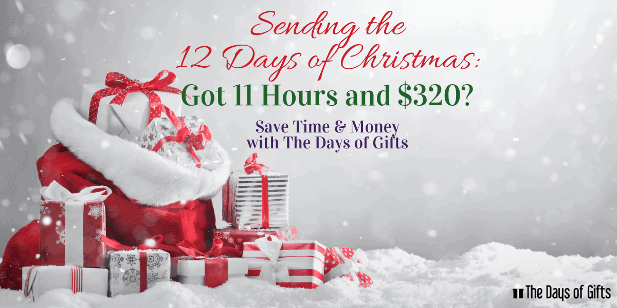purchasing the 12 days of christmas gifts with the days of gifts time and cost savings index. Black Bedroom Furniture Sets. Home Design Ideas