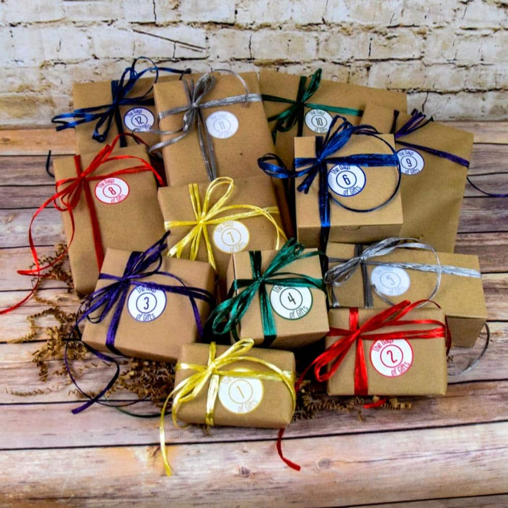 The 12 Days Of Birthday Gifts For Her The Days Of Gifts Multi Day Gifts For Birthdays The 12 Days Of Christmas Just Because Gifts Anniversary Gifts And More